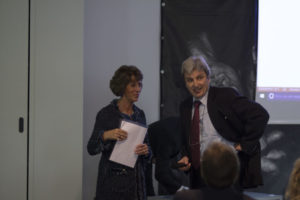Elisabetta Borello e Pietro Conti